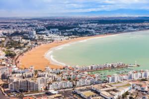 Пляжи Марокко