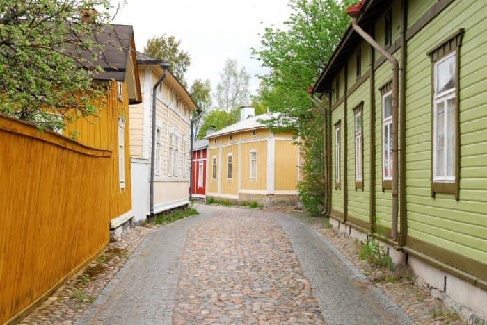 деревянный город финляндии