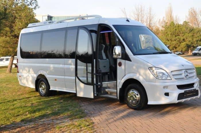 микроавтобус в Турции