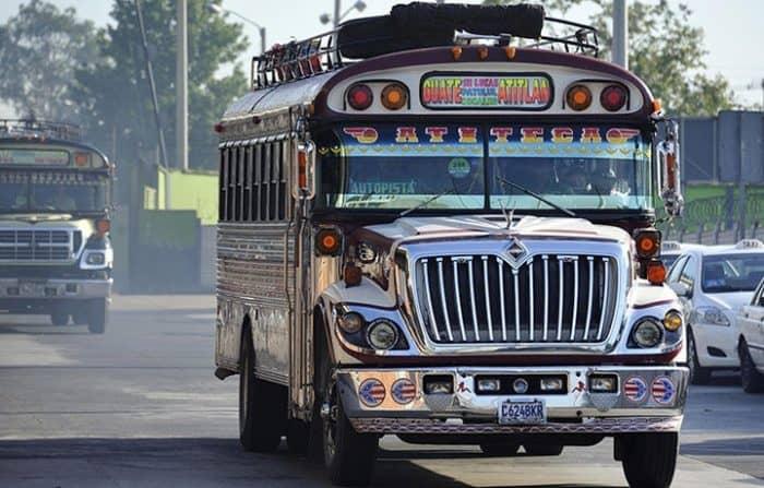 Автобусы в Колумбии