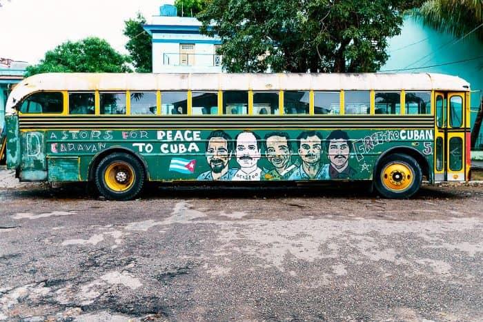 Автобусы в Гаване