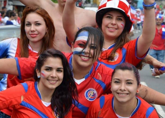 Футбольные матчи Коста-Рики