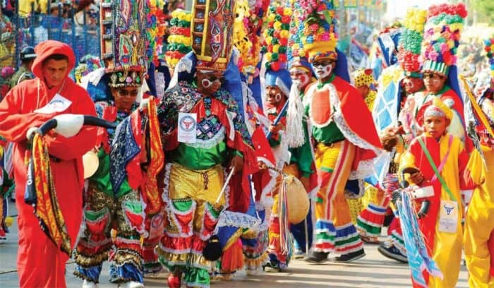 Карнавал в Барранкилье