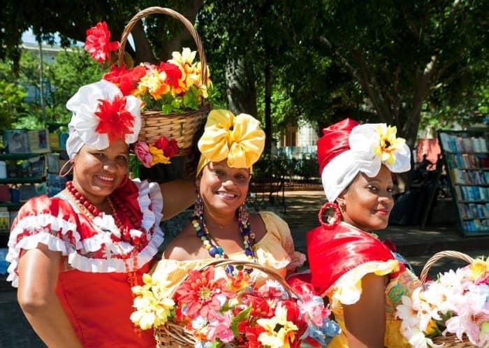 Люди в Гаване