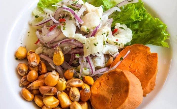 Национальное блюдо Перу