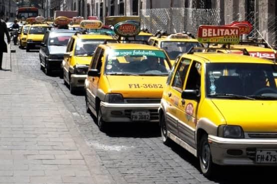 Такси в Перу
