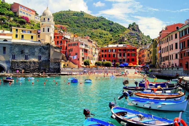 Время для поездок в Италию